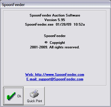 SpoonFeeder's Leading Auction Listing and Management Software